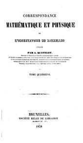 Correspondance mathématique et physique: Volume10