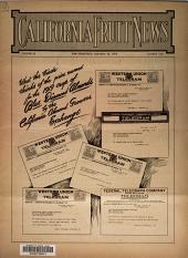 California Fruit News: Volume 60, Issue 1628