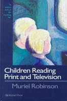 Children Reading Print and Television PDF