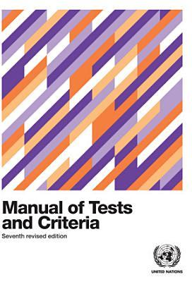 Manual of Tests and Criteria PDF