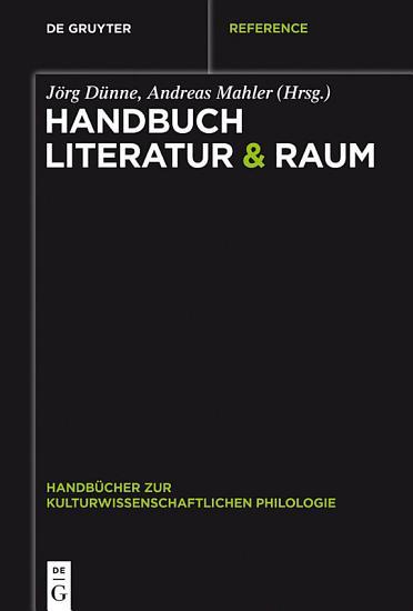 Handbuch Literatur   Raum PDF