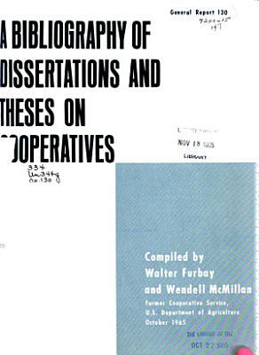 Statistics of Farmer Cooperatives  1963 64