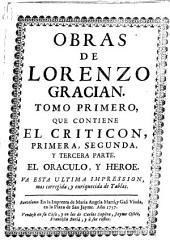 Obras de Lorenzo Gracian, 1