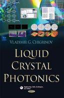 Liquid Crystal Photonics