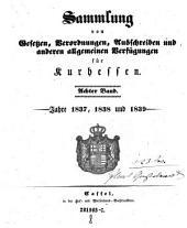 Sammlung von Gesetzen, Verordnungen, Ausschreiben und sonstigen allgemeinen Verfügungen für die kurhessischen Staaten: Band 8