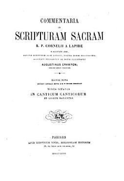 Commentaria in Scripturam sacram PDF
