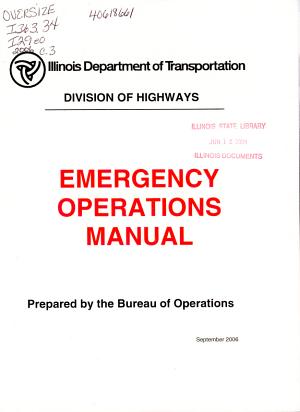 Emergency Operations Manual PDF