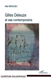 Gilles Deleuze et ses contemporains