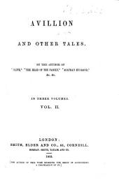 Avillion and Other Tales: Volume 2