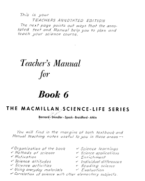 The Macmillan Science life Series