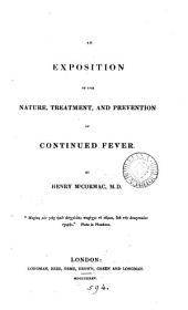 An exposition of the nature, treatment, and prevention of continued fever