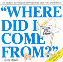 Where Did I Come From  Book