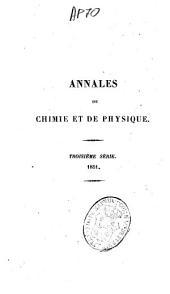 Annales de chimie et de physique: Volume31