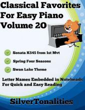 Classical Favorites for Easy Piano Volume 2 O