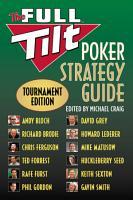 The Full Tilt Poker Strategy Guide PDF