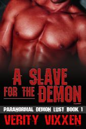 A Slave For The Demon: M/F Demon Monster Paranormal BDSM
