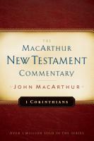 1 Corinthians MacArthur New Testament Commentary PDF