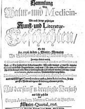 Sammlung von Natur- und Medicin- wie auch hierzu gehörigen Kunst- und Literatur-Geschichten so sich von 1717-26 in Schlesien und anderen Orten begeben ... und als Versuch ans Licht gestellet: Band 35