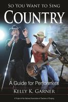 So You Want to Sing Country PDF