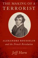 The Making of a Terrorist PDF