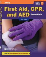 First Aid  CPR  and AED Essentials PDF