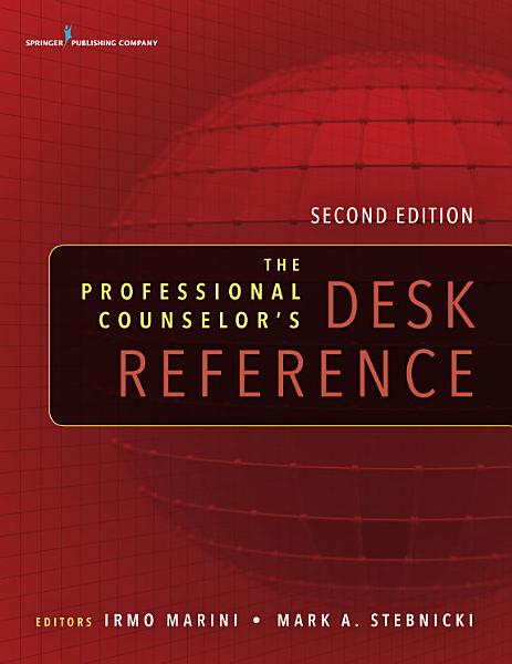 The Professional Counselor s Desk Reference  Second Edition