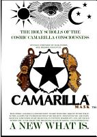 The Holy Scrolls of the Cosmic Camarilla Mask    Consciousness PDF