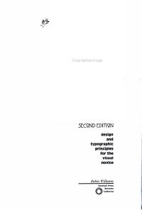 The Non designers Design Book