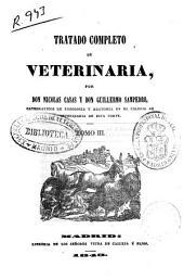 Tratado completo de veterinaria: Volumen 3