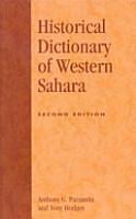 Historical Dictionary of Western Sahara PDF