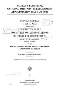 Department of Defense Appropriations for     PDF