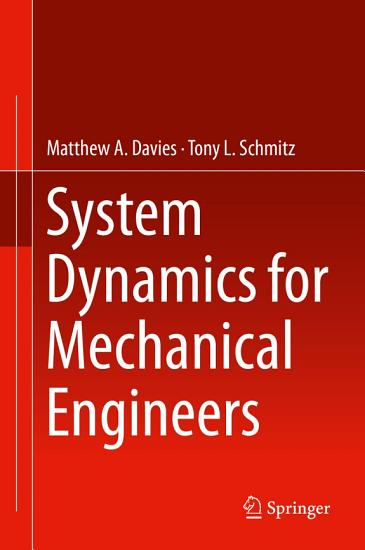 System Dynamics for Mechanical Engineers PDF