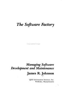 The Software Factory PDF