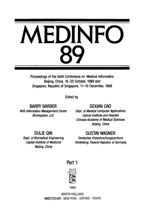 MEDINFO 89 PDF
