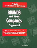 Brands & Their Companies 24 V3 Supplement (Interedition to 0 7876 5869 3)
