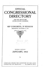 Official Congressional Directory: Volume 62