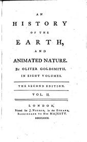 An History of the Earth, and Animated Nature: Volume 2