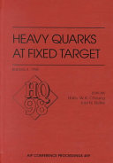Heavy Quarks at Fixed Target