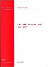 La Chiesa rumena unita: 1830-1853