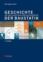 Geschichte der Baustatik PDF