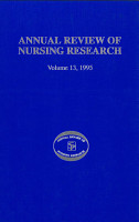 Annual Review of Nursing Research  Volume 13  1995 PDF