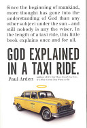 God Explained in a Taxi Ride Book