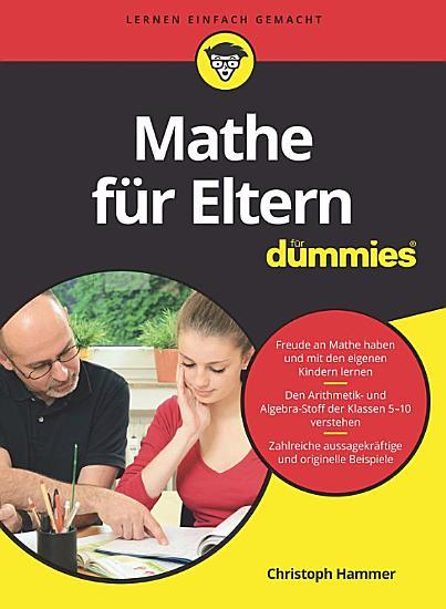 Mathe f  r Eltern f  r Dummies PDF