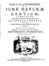 De Jure Naturae Et Gentium: Volume 3