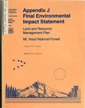 Mt.Hood National Forest (N.F.), Proposed Land and Resource(s) Management Plan (LRMP): Environmental Impact Statement