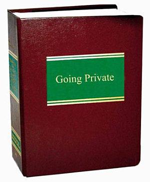 Going Private PDF