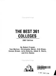 The Best 361 Colleges PDF