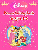 Disney Princess Coloring Books For Girls 3 5 PDF
