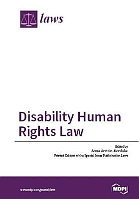 Disability Human Rights Law