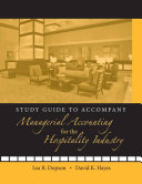 Study Guide to accompany Managerial Accounting for the Hospitality Industry PDF